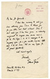 [ Letter from Samuel Barber to Harold Spivacke, November 5, 1943]