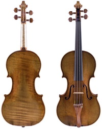 "Image: The ""Ward"" violin"