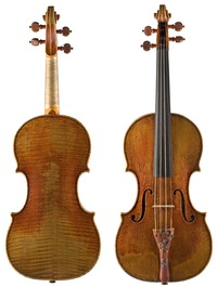 "Image: Guarneri ""Kreisler"" violin"