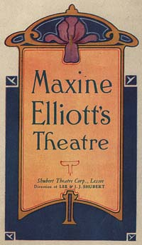 [Martha Graham, Maxine Elliott's Theatre, January 8, 1930]  [concert program]