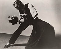Martha Graham and Erick Hawkins in Deaths and entrances / Barbara Morgan [photograph]