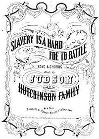Songs Related to the Abolition of Slavery