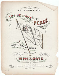 Peace Songs of the Civil War