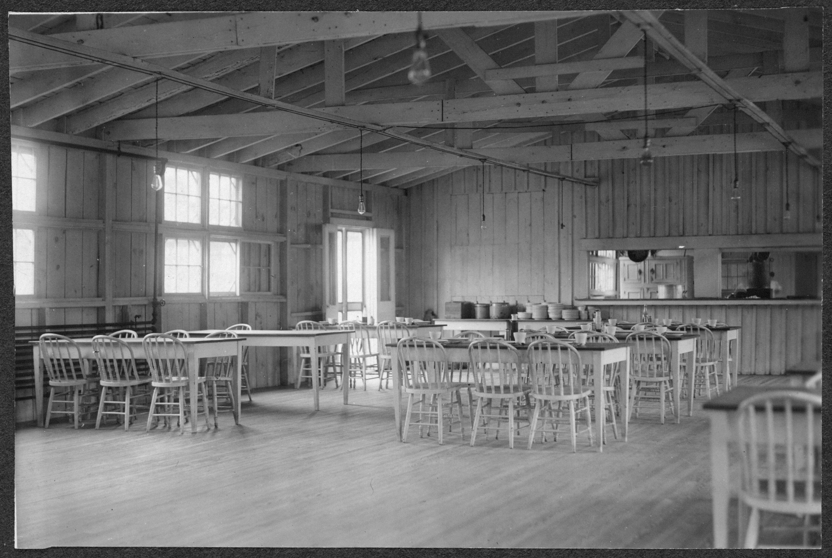 Interior dining room d c prison library of congress for U s senate dining room