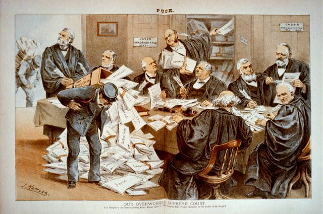 Our overworked Supreme Court [Photo from Library of Congress Prints and Photographs Division]