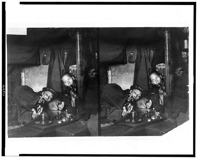 Opium Den.  1909.  Library of Congress.