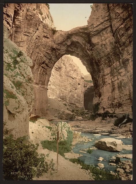 [The natural arch, Constantine, Algeria]
