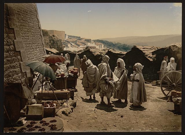 [Before a gate at Constantine, Constantine, Algeria]