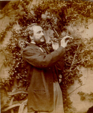 A photograph taken by Lewis Carroll during the Victorian era