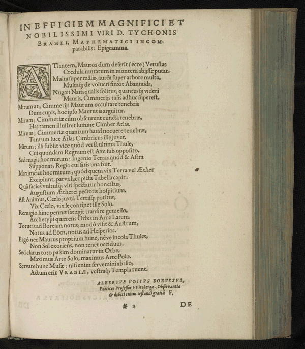 Image 6 of Epistolarum astronomicarum libri.