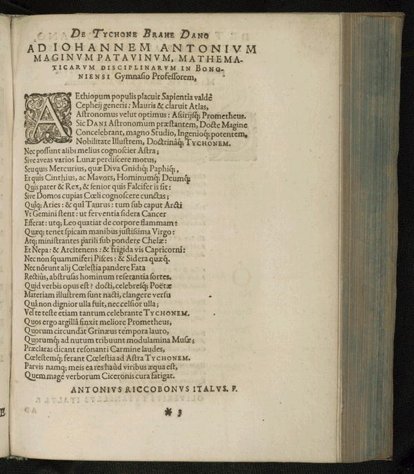 Image 8 of Epistolarum astronomicarum libri.