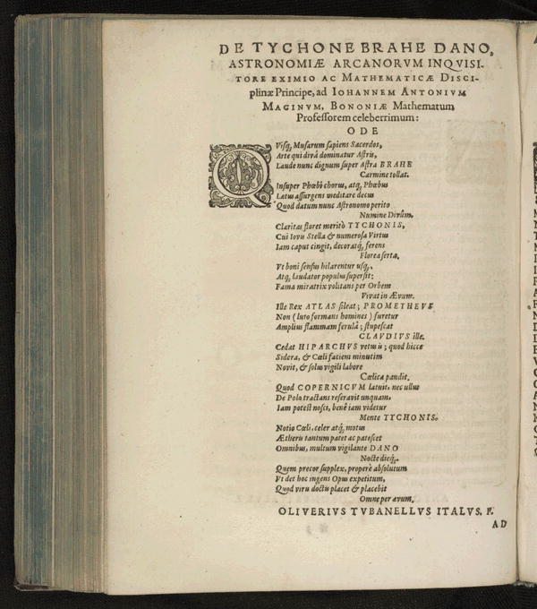 Image 9 of Epistolarum astronomicarum libri.