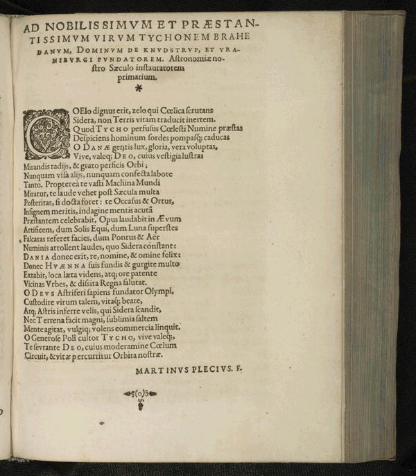 Image 10 of Epistolarum astronomicarum libri.