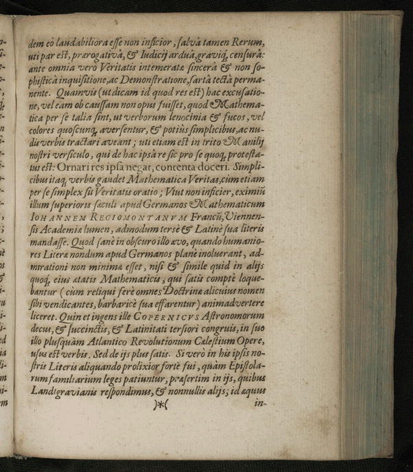 Image 36 of Epistolarum astronomicarum libri.