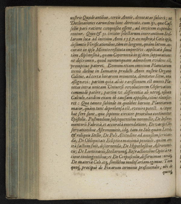 Image 39 of Epistolarum astronomicarum libri.