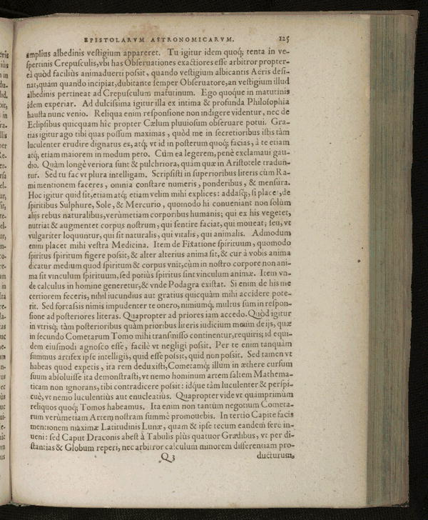 Image 167 of Epistolarum astronomicarum libri.