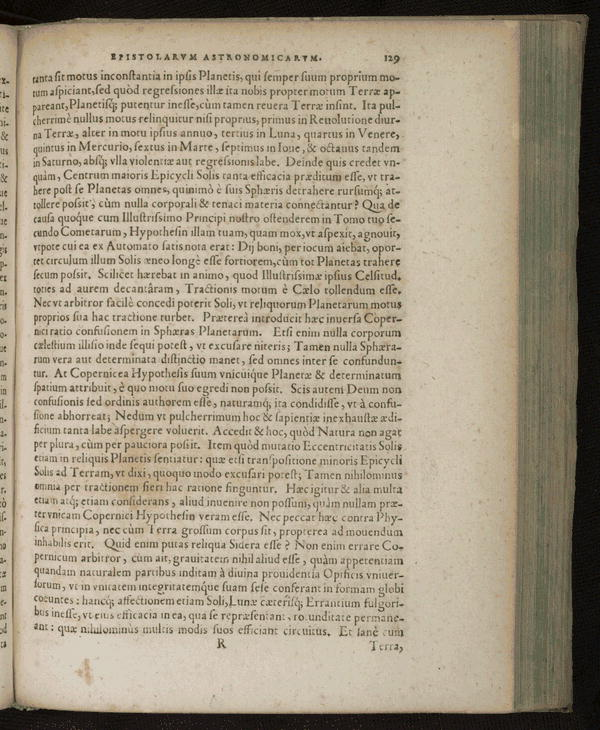 Image 171 of Epistolarum astronomicarum libri.