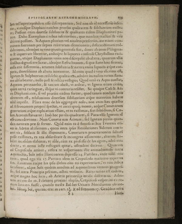 Image 181 of Epistolarum astronomicarum libri.