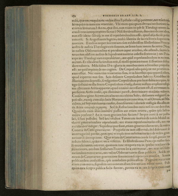 Image 196 of Epistolarum astronomicarum libri.